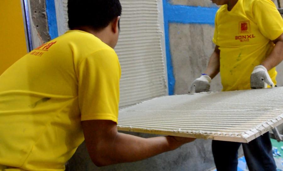 瓷砖胶的施工禁忌你知多少?