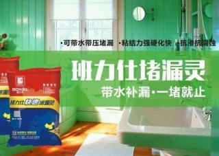 班力仕美缝剂在处理卫生间防水补