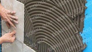如何识别瓷砖胶有没掺加水泥?三
